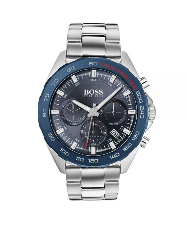 HUGO BOSS HB1513665 Intensity Blue Dial Men's Chronograph Watch ~RRP £349.95~