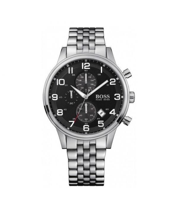 HUGO BOSS HB1512446 Men's Black Dial Chronograph Aeroliner Watch ~£349~